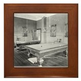 Poolroom Framed Tiles