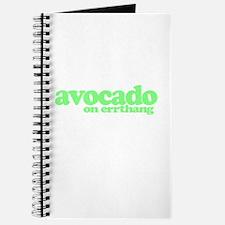 avocado on errthang Journal