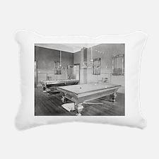 Cute Billiards Rectangular Canvas Pillow