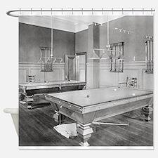 Cute Billiard Shower Curtain