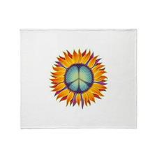 Cute Peace Throw Blanket