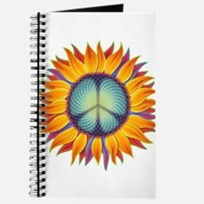 Cute Flower peace sign Journal