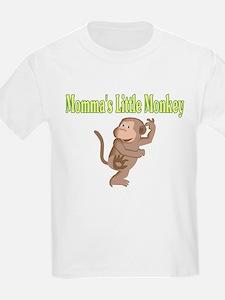 Momma's Little Monkey T-Shirt