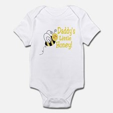 Daddy's little Honey with a b Infant Bodysuit