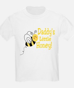 Daddy's little Honey with a b T-Shirt