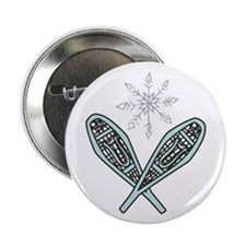 "Snowshoes 2.25"" Button"