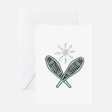 Snowshoes Greeting Cards