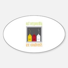 Eat Responsibly Decal
