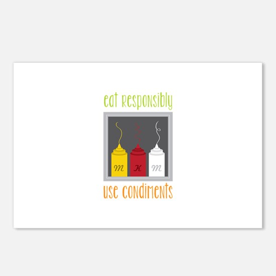 Eat Responsibly Postcards (Package of 8)