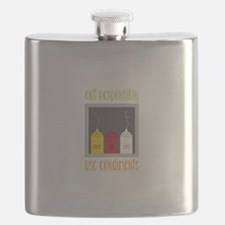 Eat Responsibly Flask