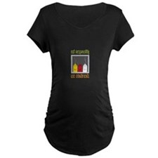 Eat Responsibly Maternity T-Shirt