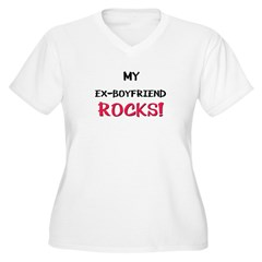 My EX-BOYFRIEND ROCKS! T-Shirt