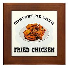 Comfort Fried Chicken Framed Tile