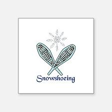 Snowshoeing Sticker