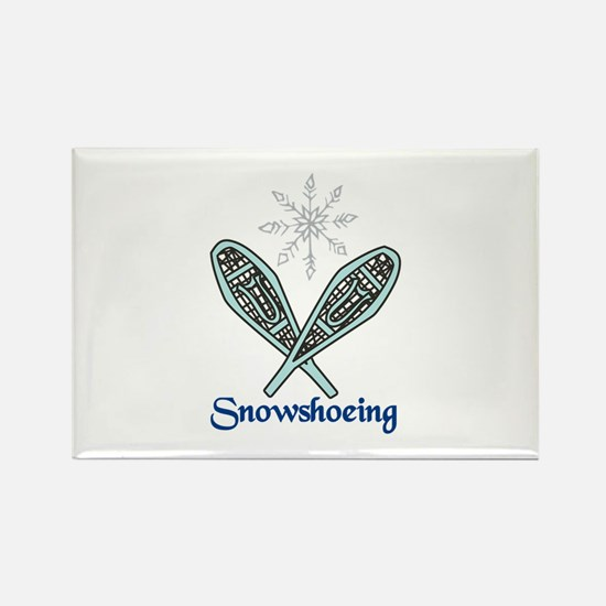 Snowshoeing Magnets