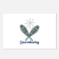 Snowshoeing Postcards (Package of 8)
