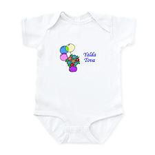 Jewish Hebrew Yalda Tova Infant Bodysuit