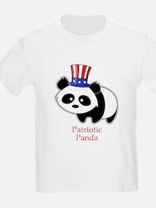 Patriotic Panda T-Shirt