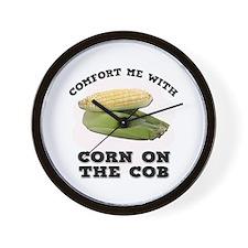 Comfort Corn On The Cob Wall Clock