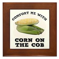 Comfort Corn On The Cob Framed Tile