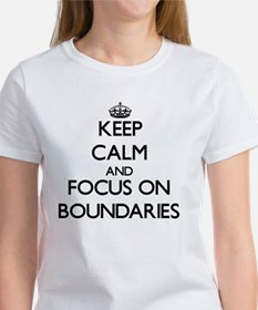 Keep Calm and focus on Boundaries T-Shirt