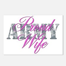 Proud Army Wife ACU Postcards (Package of 8)