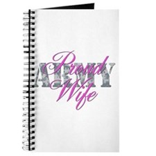 Proud Army Wife ACU Journal