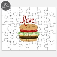 Love Hamburger Puzzle