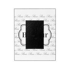 Bonjour Paris Black and White Picture Frame