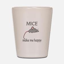 Mice Happy Shot Glass
