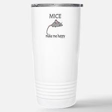 Mice Happy Travel Mug