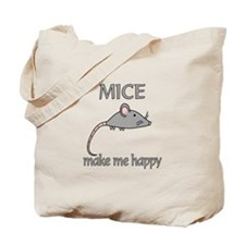 Mice Happy Tote Bag