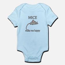 Mice Happy Infant Bodysuit