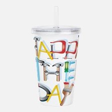 Happy Fathers Day Acrylic Double-wall Tumbler