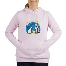 nativity scene cp.png Women's Hooded Sweatshirt