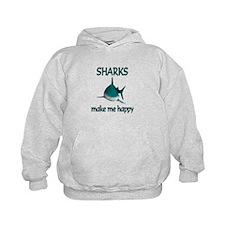 Shark Happy Hoodie