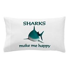 Shark Happy Pillow Case