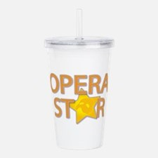 3-opera star2.png Acrylic Double-wall Tumbler