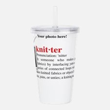 knitter_definition.jpg Acrylic Double-wall Tumbler