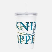 Knit Happens Acrylic Double-wall Tumbler