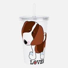 beagle lover.png Acrylic Double-wall Tumbler