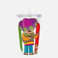 little mexico.png Acrylic Double-wall Tumbler