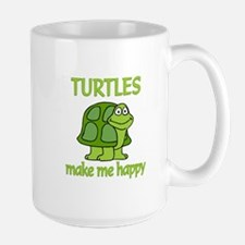 Turtle Happy Mug
