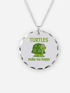 Turtle Happy Necklace