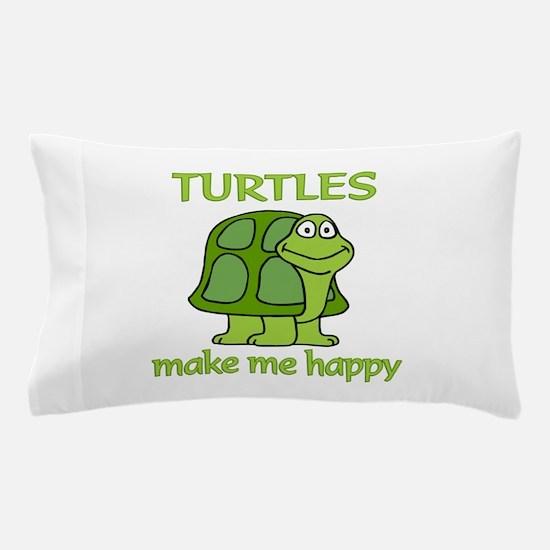 Turtle Happy Pillow Case