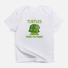 Turtle Happy Infant T-Shirt
