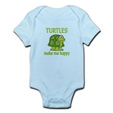 Turtle Happy Infant Bodysuit