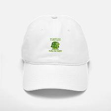 Turtle Happy Baseball Baseball Cap