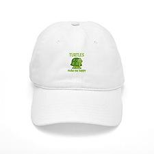 Turtle Happy Baseball Cap