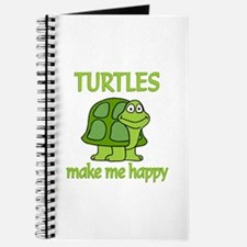 Turtle Happy Journal